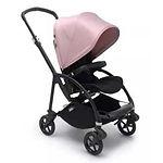 Bugaboo Bee 6 Stroller Complete, Black, Soft Pink