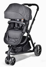 Unilove Touring Pram & Pushchair, Black