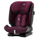 Britax Advansafix I-Size Car Seat, Burgundy Red