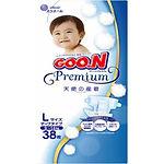 Goo.N Premium Diapers, L, 38pcs