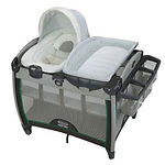 Graco Pack 'n Play Quick Connect Portable Bounce Playard, Albie