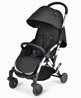 Unilove Slight Premium Baby Pushchair, Black Ripstops