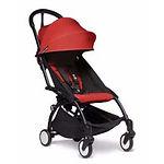 Babyzen YOYO2 6+ Stroller, Black Frame, Red