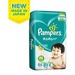 Pampers Baby Dry Diaper, M, 64pcs