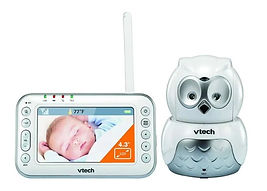 VTECH Audio & Video Baby Monitor, BM4500, Owl