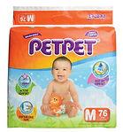 PetPet Halo Mega Pack, M, 76pcs