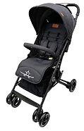 Lucky Baby City Travel Baby Stroller, Black
