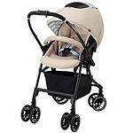Combi Mechacal Handy 4 Auto cas Plus Stroller, Cafe Beige