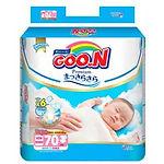 Goo.N Premium Diapers, NB, 70pcs