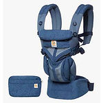 Ergobaby Omni 360 Baby Carrier, Cool Air Mesh, Blue Blooms