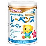 Wakodo Lebens GunGun Premium Gold Follow up Formula, Stage 2, 830g