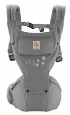 Ergobaby Hip Seat Baby Carrier, Galaxy Grey