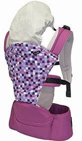 Combi Foldable Hipseat, Purple
