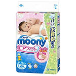 Moony Air Fit Tape, L, 66pcs