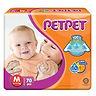 PetPet Tape Diaper, M, 70pcs
