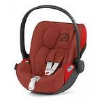 Cybex Cloud Z i-Size Plus Infant Car Seat, Burnt Red