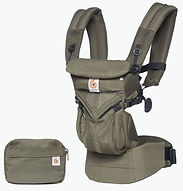 Ergobaby Omni 360 Baby Carrier, Cool Air Mesh, Khaki Green