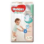 Huggies Platinum Diapers, L, 54pcs