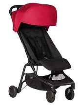 Mountain Buggy Nano V2 Travel Stroller, Ruby