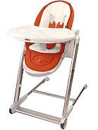 Puku Egg High Chair, Orange