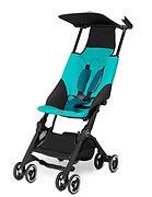 GoodBaby Pockit Stroller, Capri Blue
