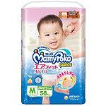 MamyPoko Air Fit Pants, M, 58pcs