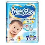 MamyPoko Extra Dry Skin, L, 50pcs