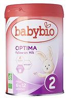 Babybio Optima Follow-On Milk, Stage 2, 900g
