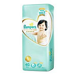 Pampers Premium Care Diaper, L, 40pcs