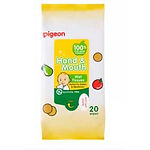 Pigeon Hand & Mouth Wet Tissues, 20s