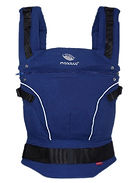 Manduca Pure Cotton Baby Carrier, Royal Blue