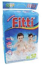 Fitti Jumbo Pack, XL, 52pcs