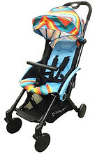 Lucky Baby City Chase Stroller, Blue