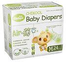 Chikool Air Baby Diapers, M, 24pcs