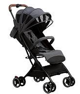 Bonbijou Luke Mini Stroller, Denim Grey