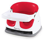 Ingenuity Baby Base 2-in-1 Seat, Poppy Red