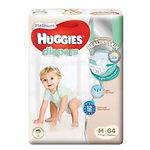Huggies Platinum Diapers, M, 64pcs