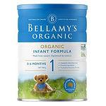 Bellamy's Organic Infant Formula, Stage 1, 900g