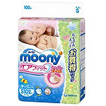 Moony Air Fit Tape, S, 102pcs