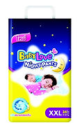 BabyLove Night Pants, XXL, 34pcs