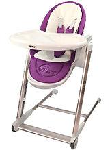 Puku Egg High Chair, Purple