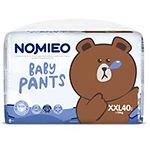 Nomieo Baby Pants, XXL, 40pcs