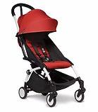 Babyzen YOYO� 6+ Stroller, White Frame, Red