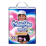 MamyPoko Extra Soft Pants (Girls), XXXL, 14pcs