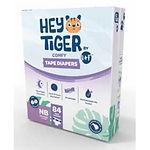 Hey Tiger Comfy Tape Diaper, NB, 84pcs