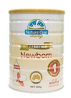 Nature One Dairy Premium Newborn Infant Formula, Step 1, 900g