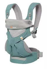 Ergobaby 360 All Positions Baby Carrier, Cool Air Mesh, Icy Mint