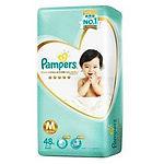 Pampers Premium Care Diaper, M, 48pcs