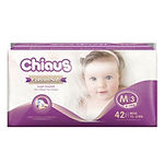 Chiaus Cottony Soft Premium Diapers, M, 42pcs