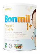 Bonlife Bonmil Organic Toddler 1+ Milk Powder, 900g